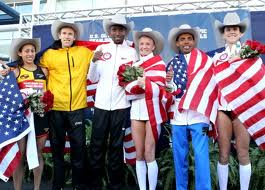 2012 U.S. Olympic Marathon Team selected in Houston