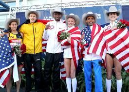 2012 U.S. Olympic Marathon Team selected in Houston