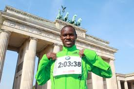 World Record holder Patrick Makau