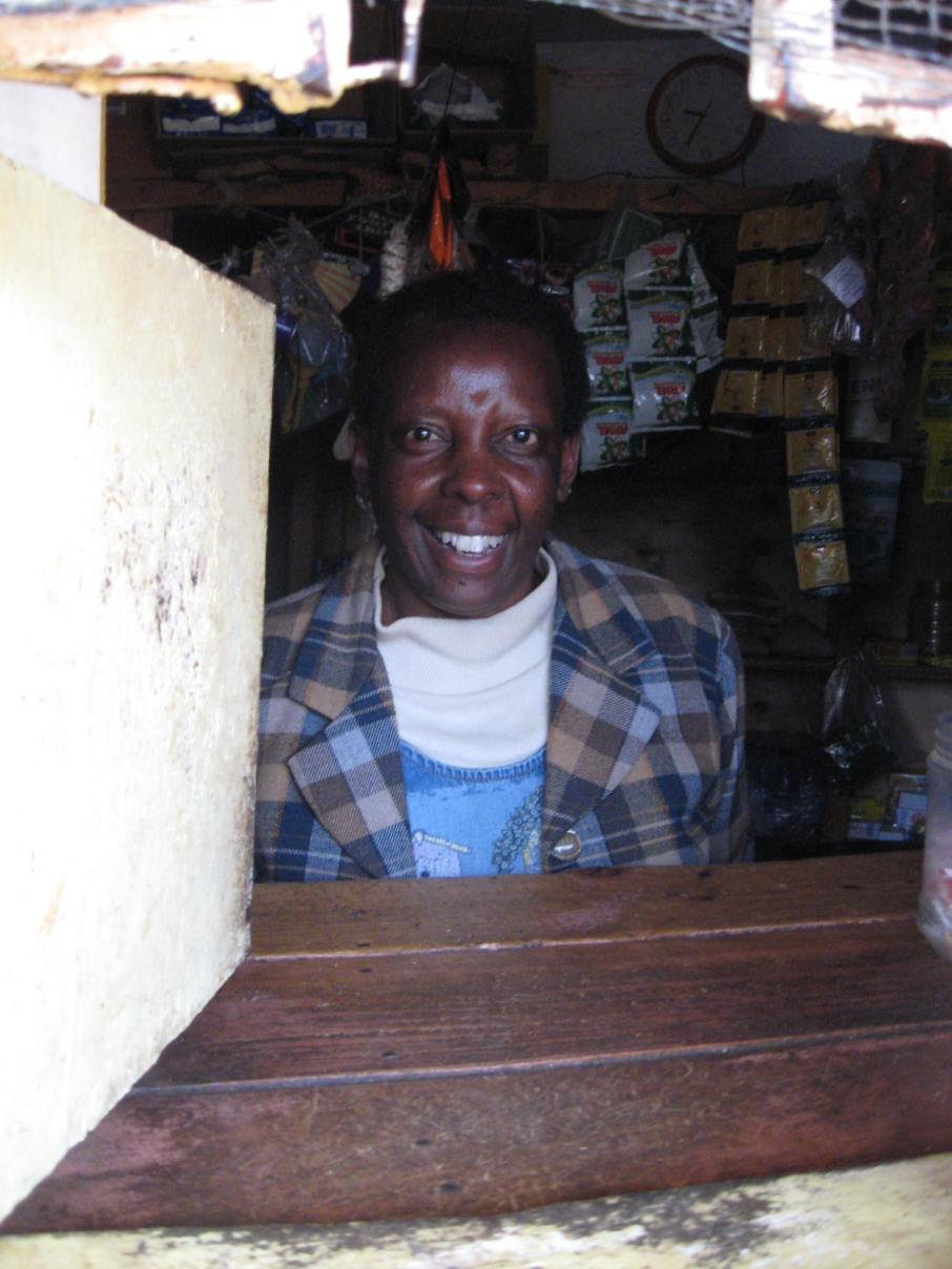 Pauline Kariuki, owner of the Corner Shop