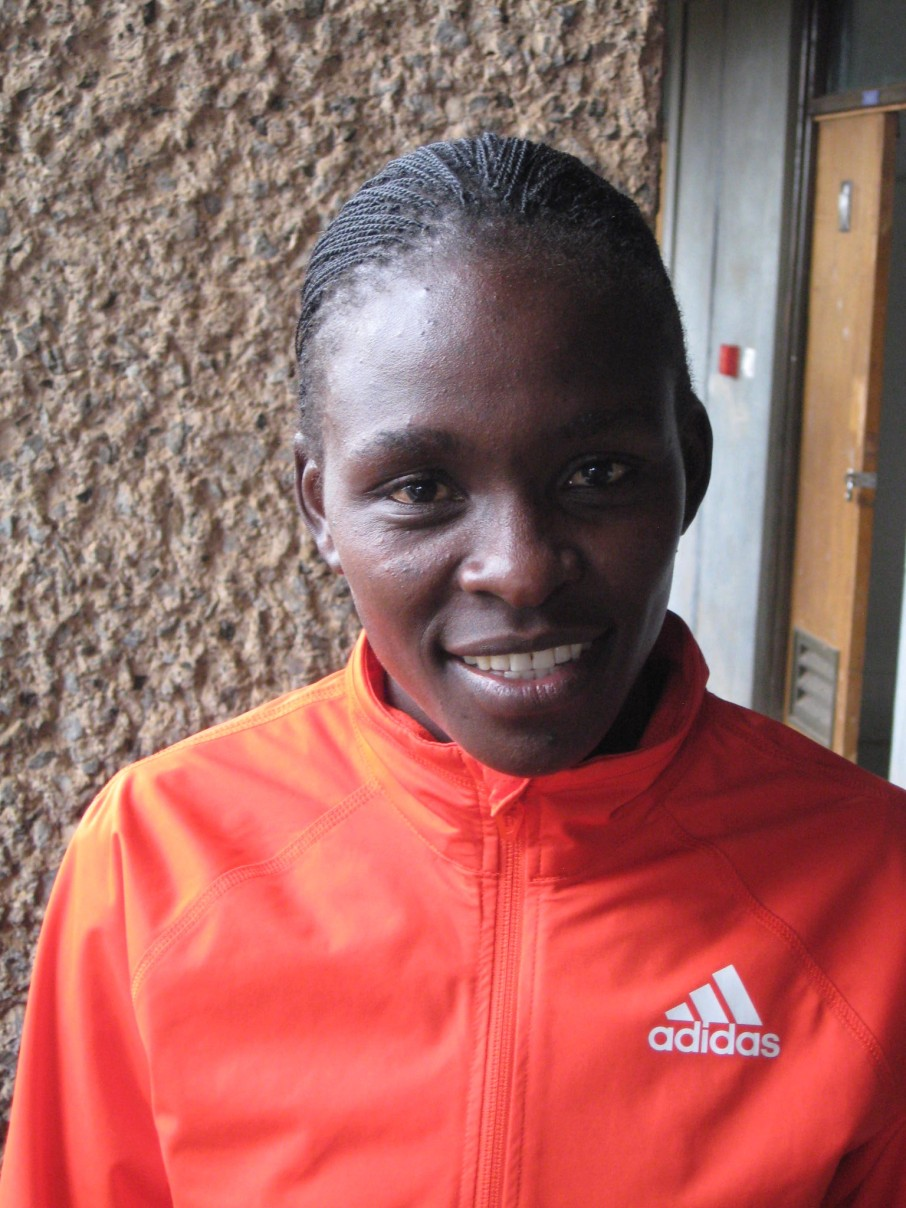 Runner-up Joyce Chepkirui