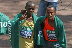 Rivals: Wanjiru & Kebede