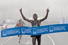 Ethiopia's Lelisa Desisa win Dubai