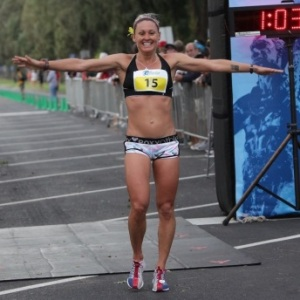 Bree Wee, 2012 Hapalua Women's champion