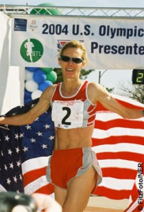 Colleen De Reuck after 2004 Trials Win