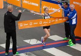 Aleksandra Duliba in LA Marathon spotligh