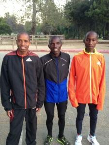 Three Amigos at Griffith Park