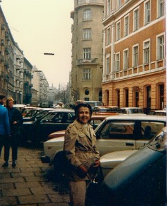 Mom in Warsaw 1987