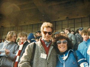 With NYRR Pat Owens at `87 World Cross Country