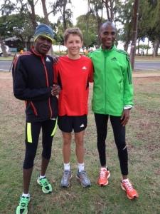 Makau & Muindi with Sebastian Barahal