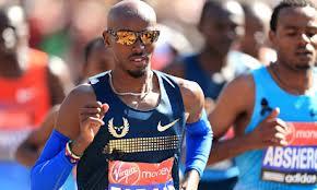 MO FARAH Test Run for 2014