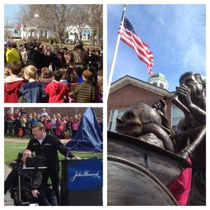 Hoyt's honored with statue