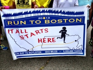 Run To Boston