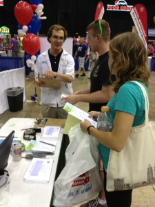 Health Screenings at Expo