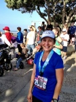 Half-Marathoner Norma Santiago