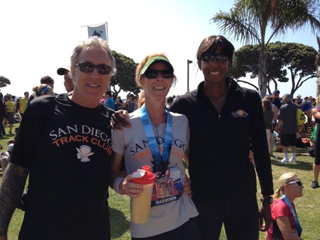 Rick & Marla Nelson with Coach Toya