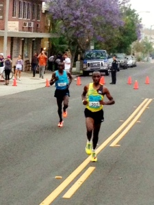 Koech breaks Kipchoge after 5 miles