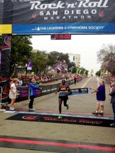 Simon Njoroge, RnR Marathon Champ