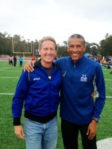 Steve Scott & Joaquim Cruz