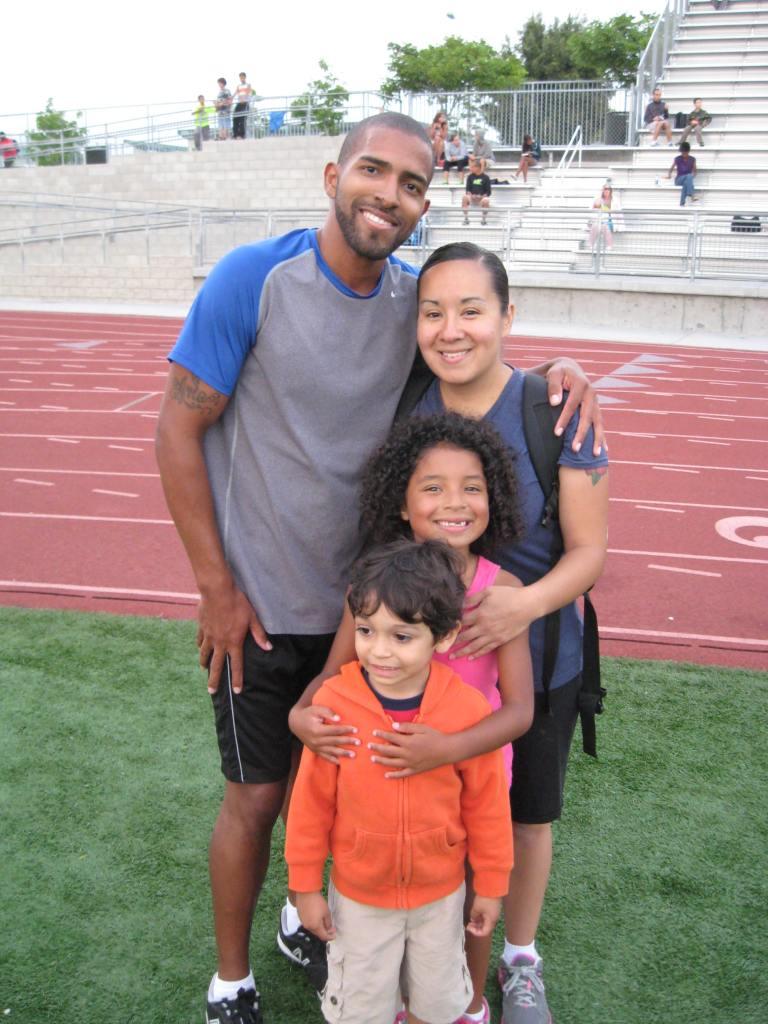 Rodriguez Family: Jose, Lettie, Kaylyn & cousin Simon
