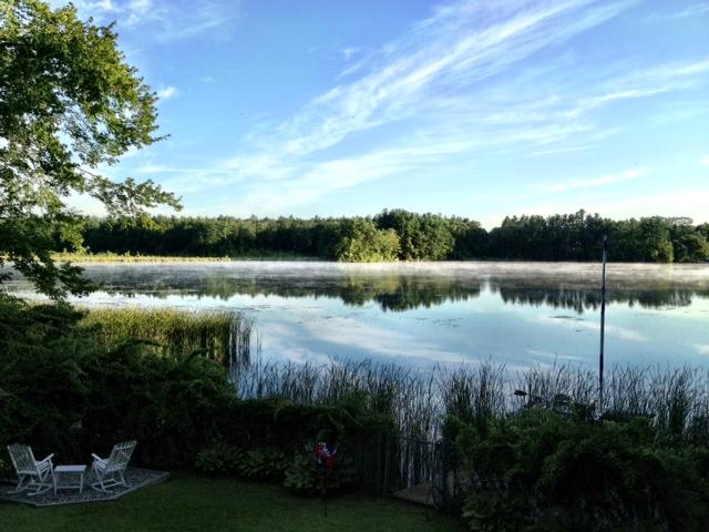 Morning Mist atop Lake Attitash