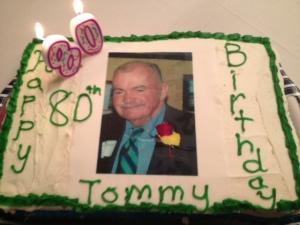 TL's 80th cake