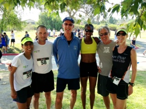 Team Toya at Wild Duck 5K XC