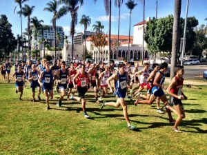 Aztec Invitational Men's 8K start