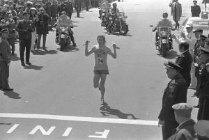 Bill Rodgers, 2:09:55 American Record, Boston 1975