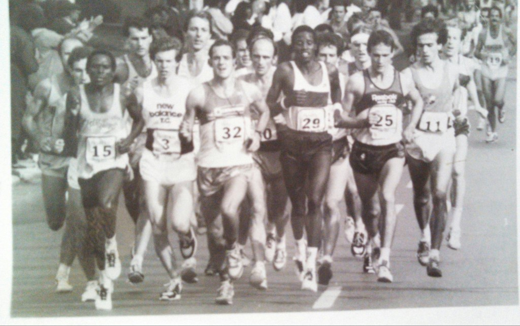 Chicago Marathon 1983 Lead Pack