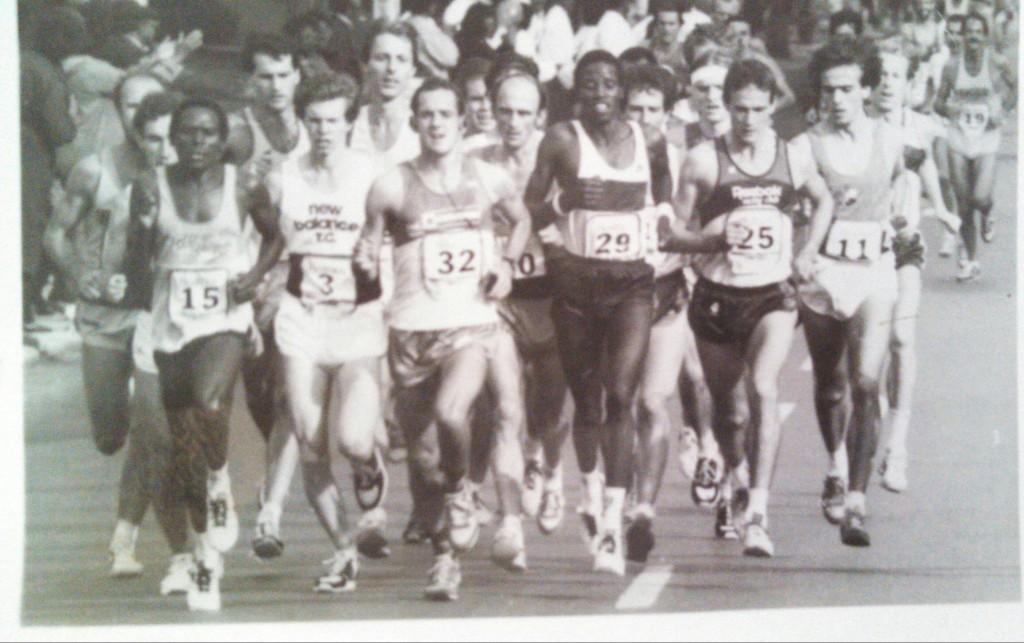 Chicago Marathon 1983 Lead Pack