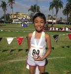 Edrianna Simbol, winner sub-8 year old division