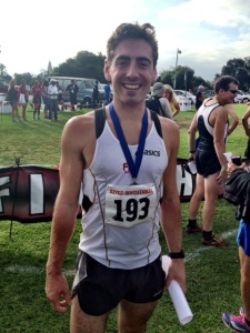 Jon Piere, Aztec Community 5K champion