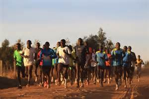 Kenyan group training