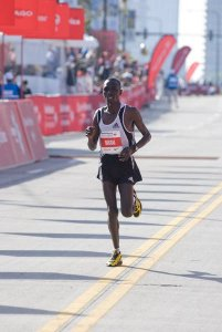 Emmanuel Mutai in fastest losing performance in marathon history