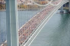 New York City Marathon start