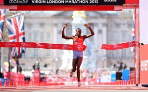 Priscah Jeptoo, 2013 London Champion