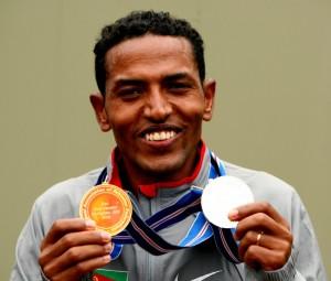 Chicago contender Zersenay Tadese