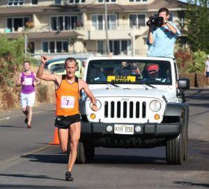 Tyler McCandless wins Kaui Marathon 2013