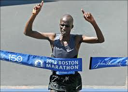 2012 Boston Marathon champion Wesley Korir