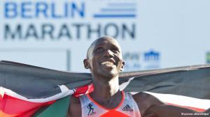 Wilson Kipsang, world record grin