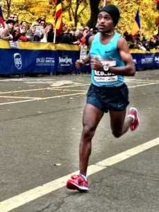 Kebede gallops toward a $560,000 payday and the 2012 -- 2013 World Marathon Majors title after twice finishing second in previous years