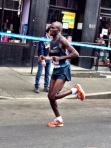 Olympic & World Champion Stephen Kiprotich of Uganda beginning to feel effects of third marathon in six months in NYC