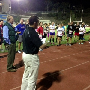 Tracy Sundlun (in vest) introduces Khalid to SDTC