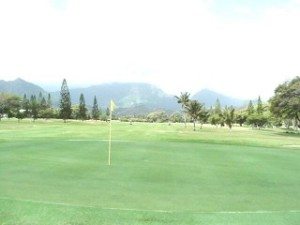 The 9th at Mid Pac CC