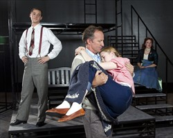 "Olympian Ed Eyestone as General Waverly in 2011 BYU production of ""White Christmas"""