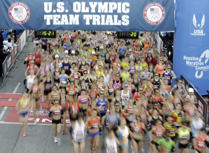 2012 Olympic Trials, Houston, Tx.