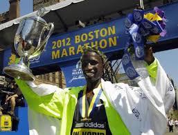 2012 Boston Marathon champion
