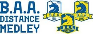BAA Distance Medley Logo