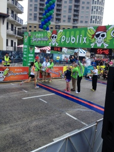 Sara Petrick, Gasparilla 15K women's champ for 2014